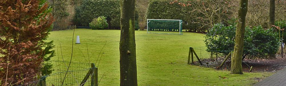 Lekker potje voetballen